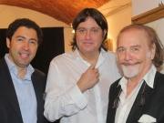 2-Salvo Nugnes, José Dalì e Cristiano De André alla Milano Art Gallery